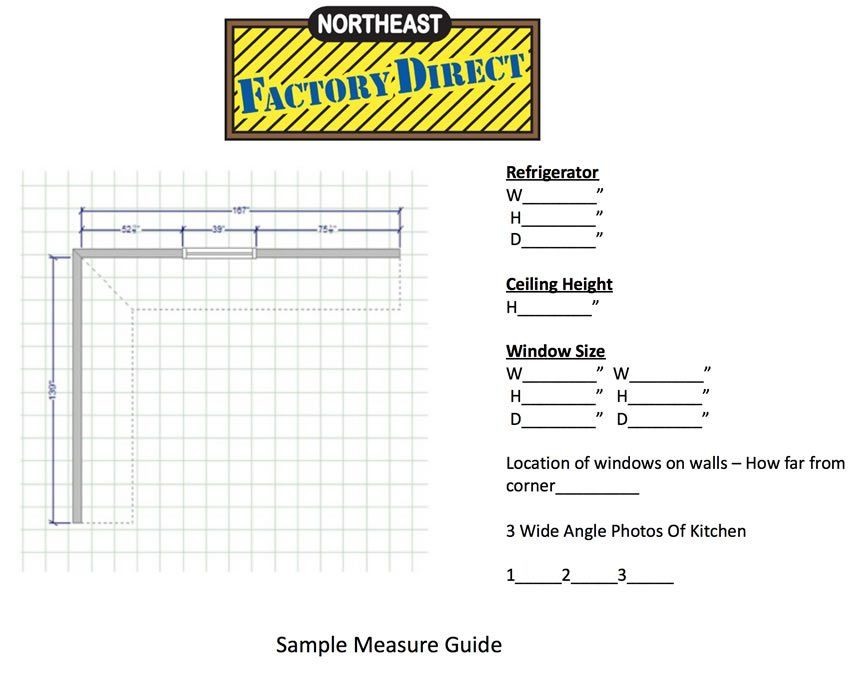 Measuring Tips   Discount Kitchen Cabinet Outlet Cleveland Ohio: